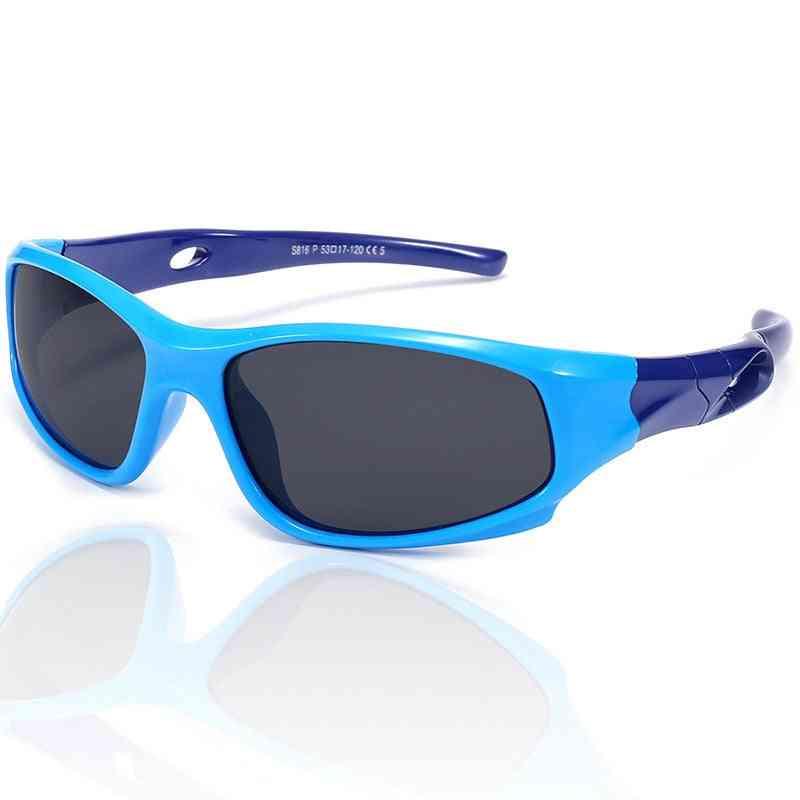 Children Polarized Sports Sunglasses Safety Coating Sunglasses Goggles Eyewear Uv400