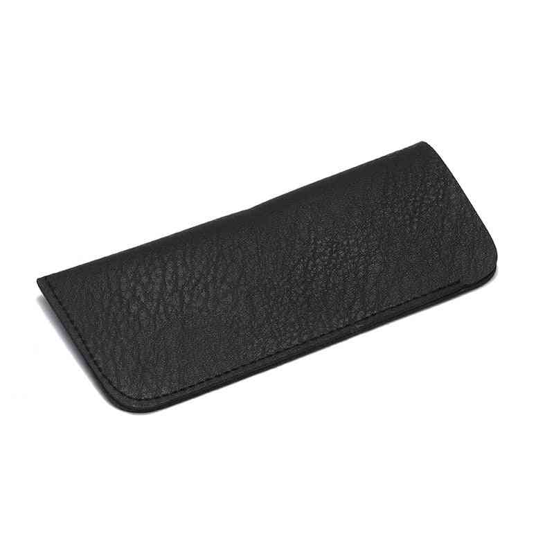 Soft Leather Reading, Waterproof Solid Sunglasses Pouch, Eyewear Accessories