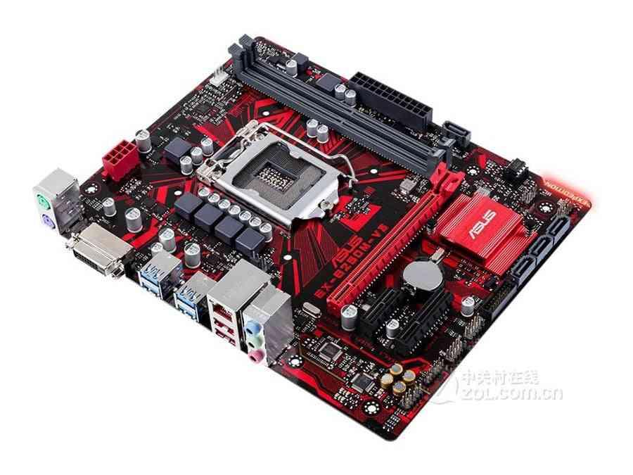 Mainboard Pc Desktop Motherboard Asus Ex-b250m-v3 For Intel Ddr4 Lga 1151 32gb Usb3 .0 Sata3.0 B250 Used Motherboard