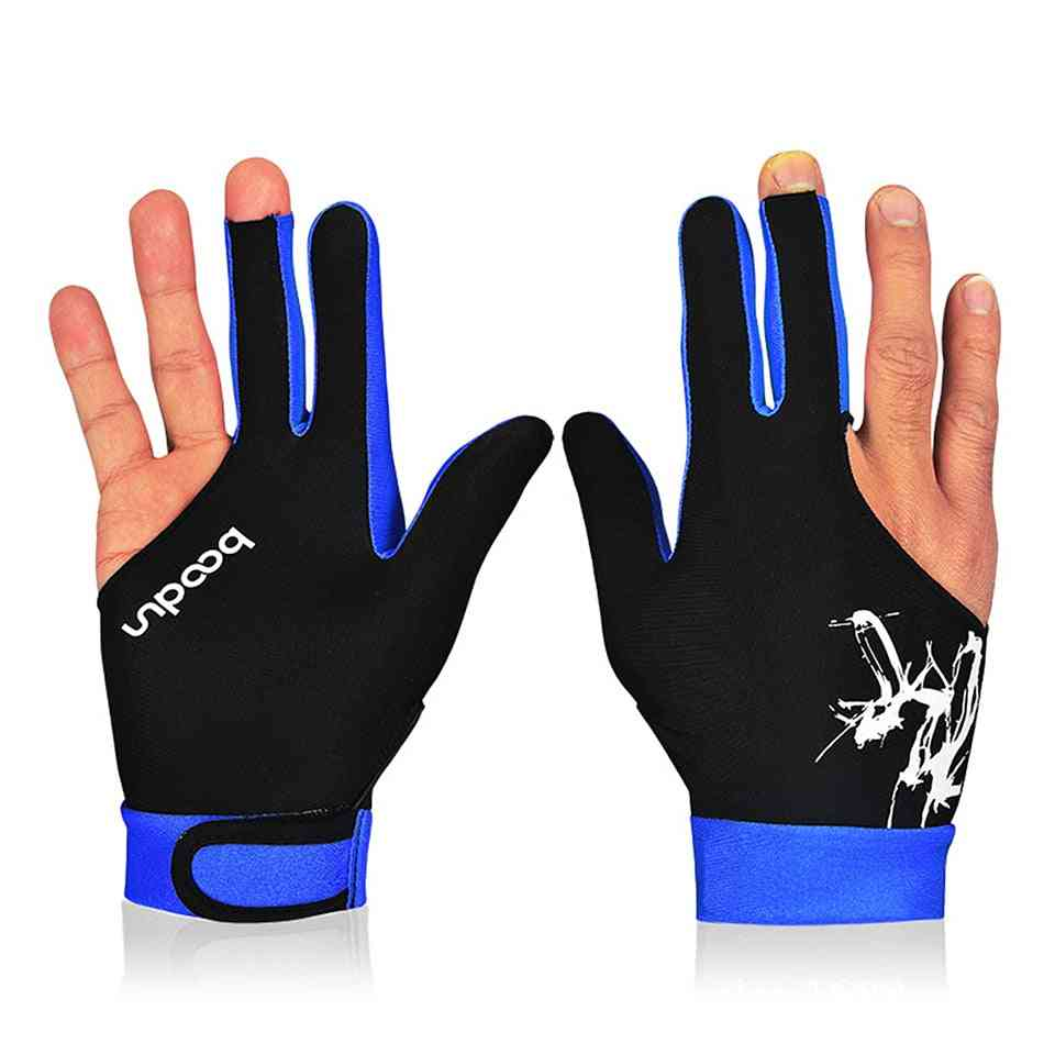 Three Fingered Billiard Pool Snooker Glove