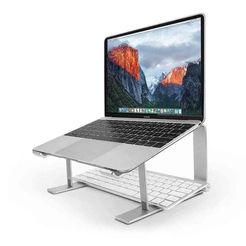 Laptop Stand Ergonomic Metal Cooling Notebook Holder For Mac Book Air Pro Base Bracket For Laptop 10''-17''