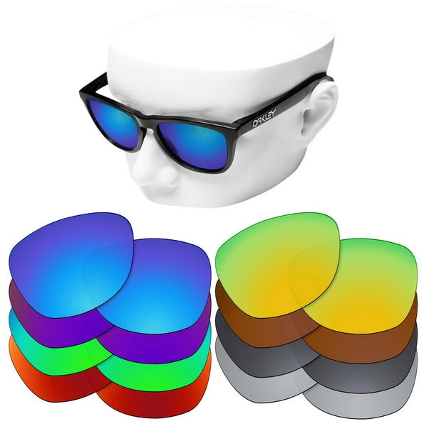 Polarized Replacement Lenses For-oakley Frogskins Sunglasses