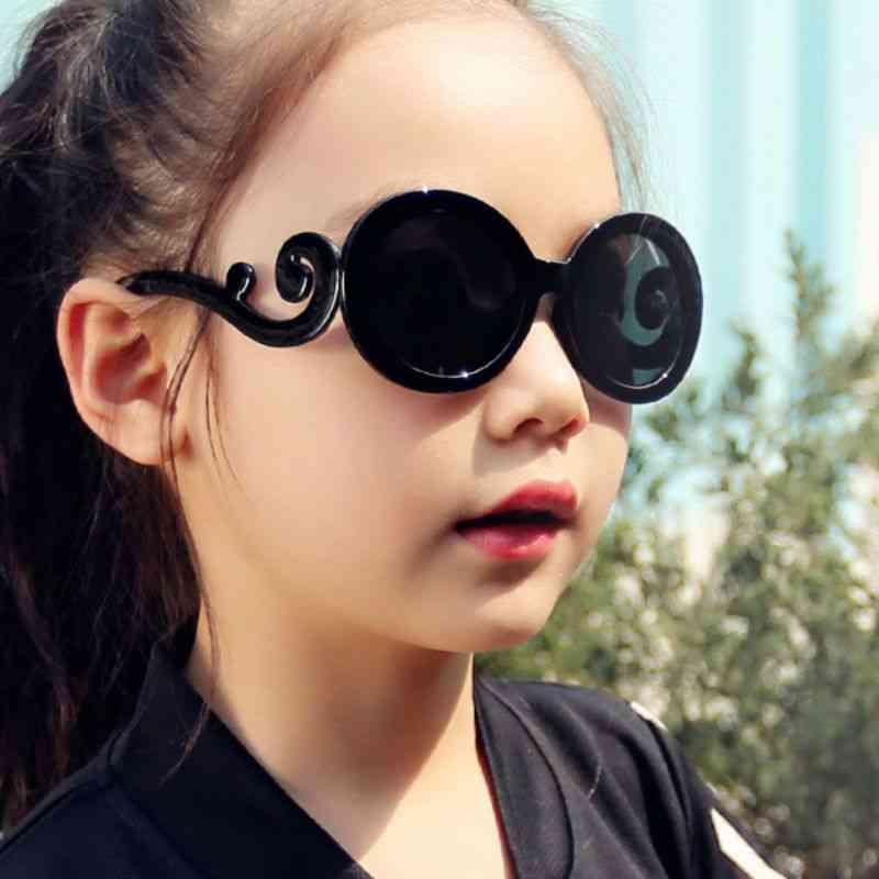 Children Cute Radiation Protection Uv400 Silicon Sunglasses (childrens Sunglasse)