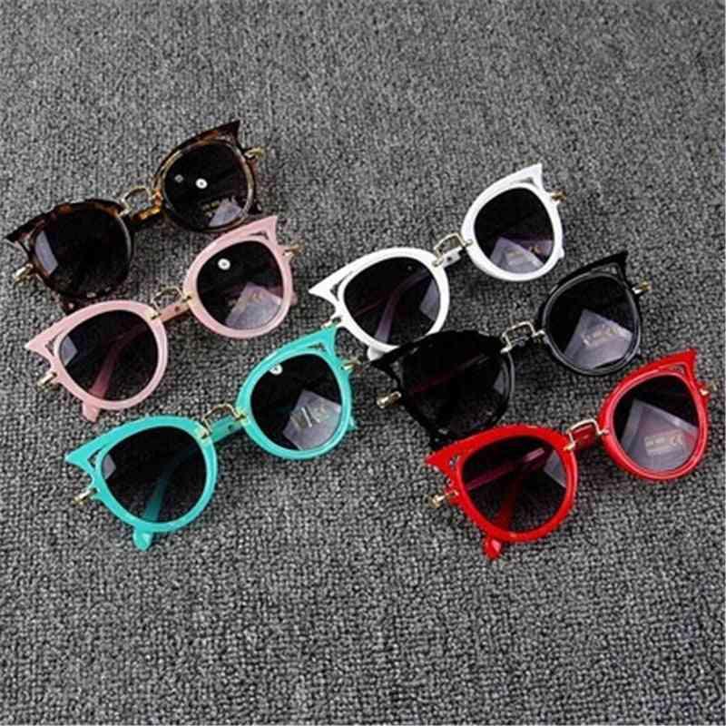Children Glasses Uv400 Lens Sunglasses Cute Eyewear Shades Goggles