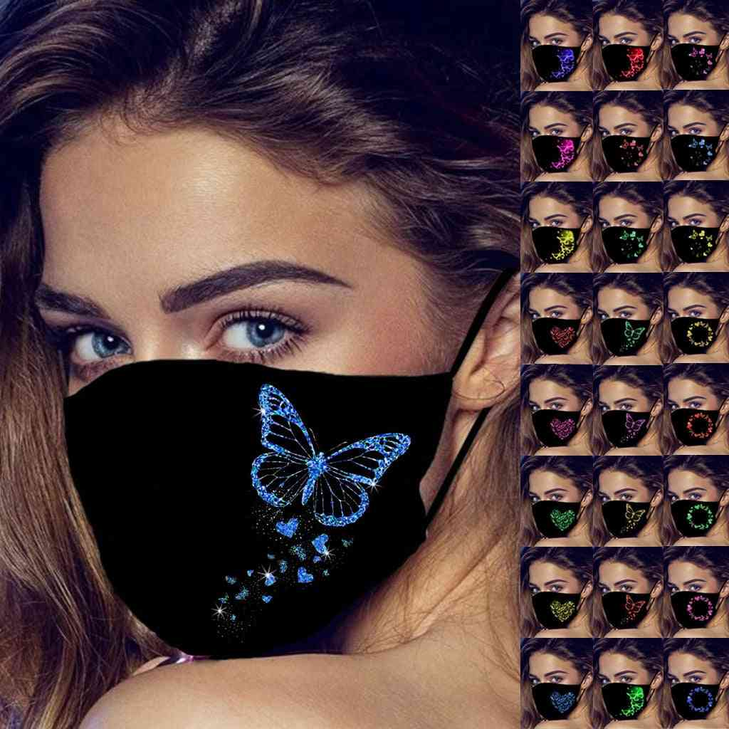 Butterfly Mouth Mask, Protection Face, Earloop Safety Protective