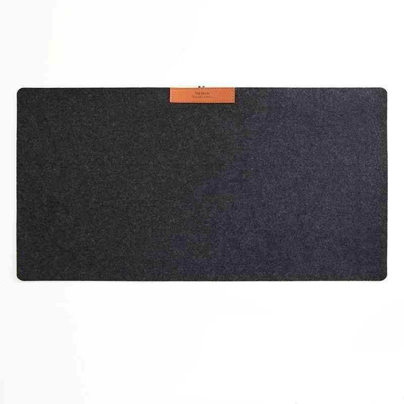 Mice Pad Desk Mat, Modern Table, Wool Felt Cushion, Gaming Mouse Pad