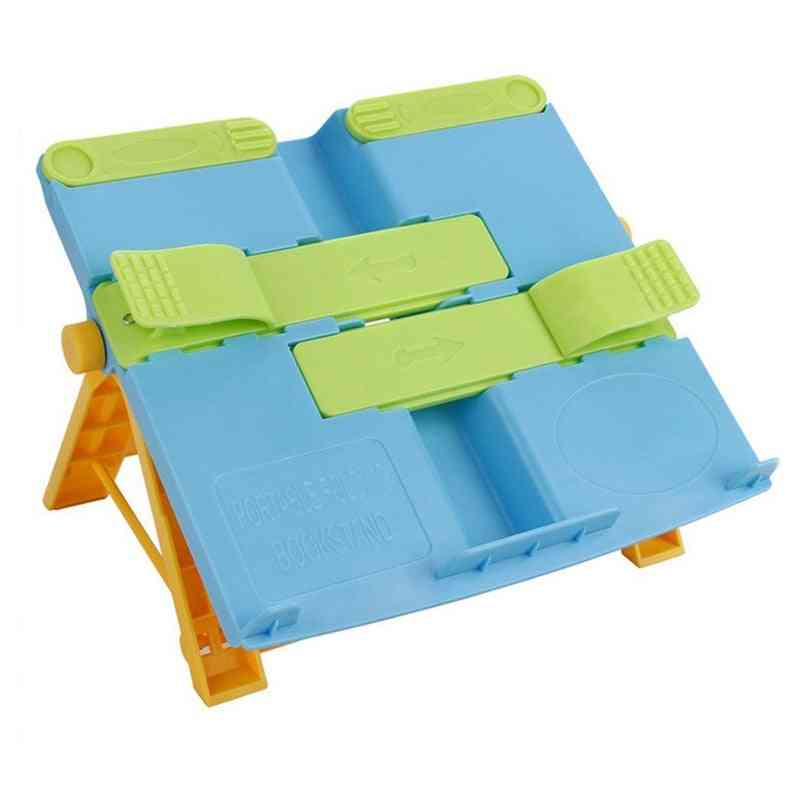 Portable Foldable, Book Writing Bracket, Stand Holder For Student