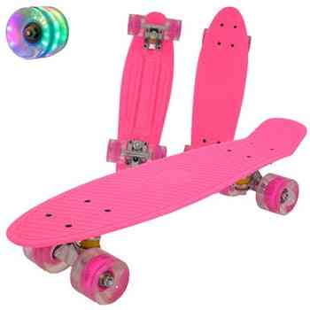 Fish Board, Mini Cruiser Scooter, Retro Penny Wheel, Truck Bearings Skateboard