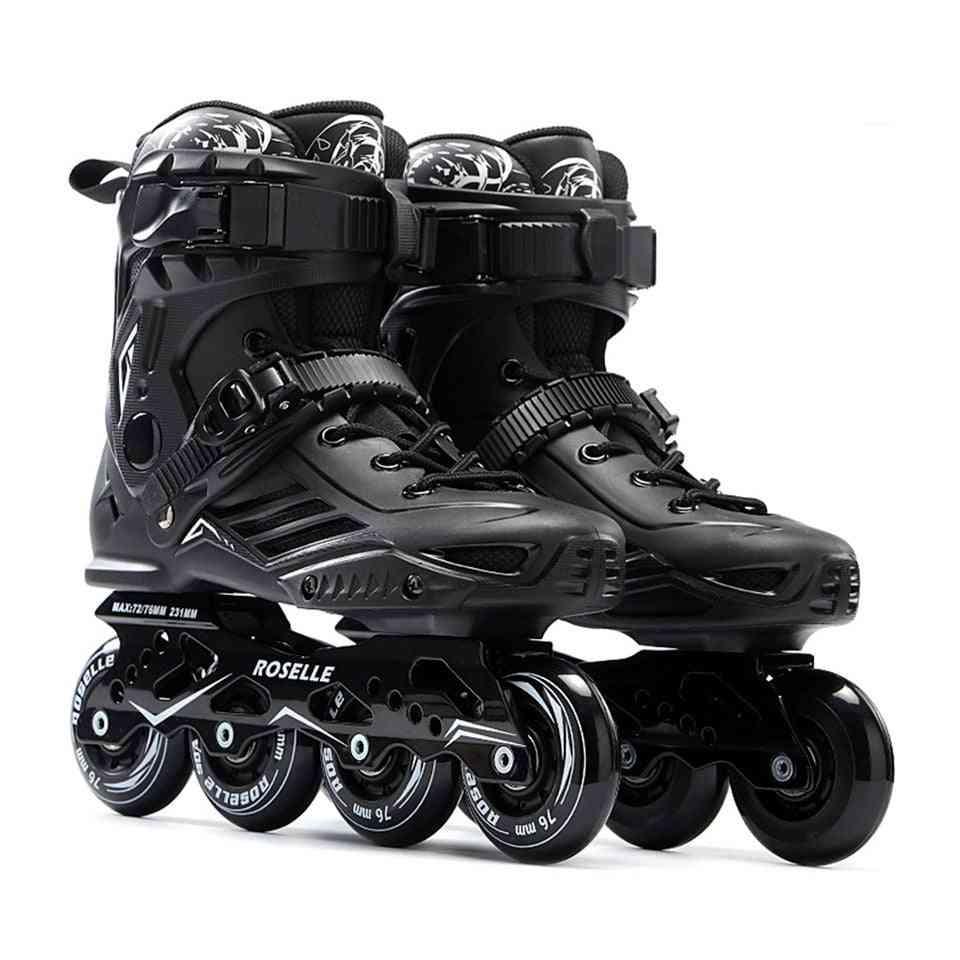 Professional Slalom Sliding Free Skating, Adult Roller
