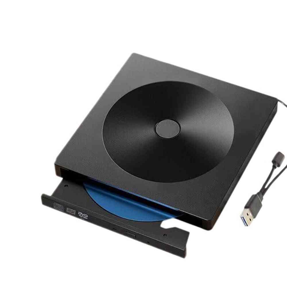 Type C Usb 3.0 Slim External Dvd Rw, Cd Writer Drive / Burner Reader Player