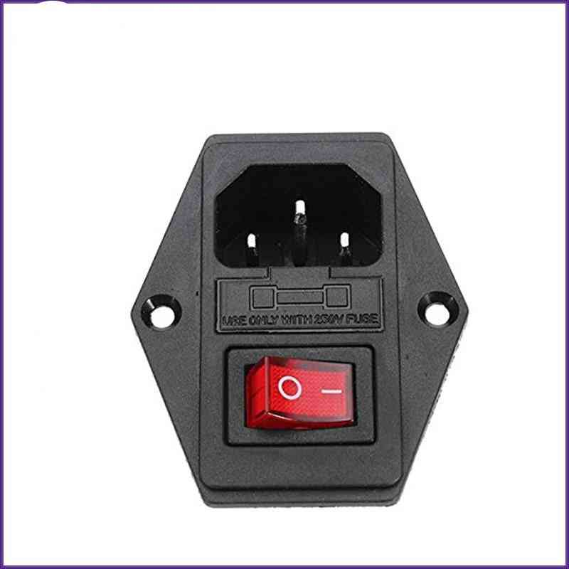 On / Off Switch Socket With Female Plug