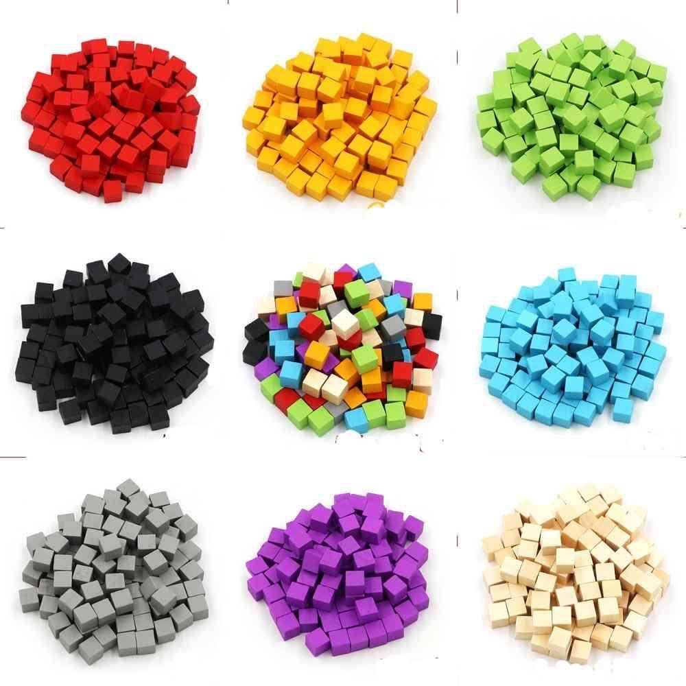 Cubes Blocks Blank Dice