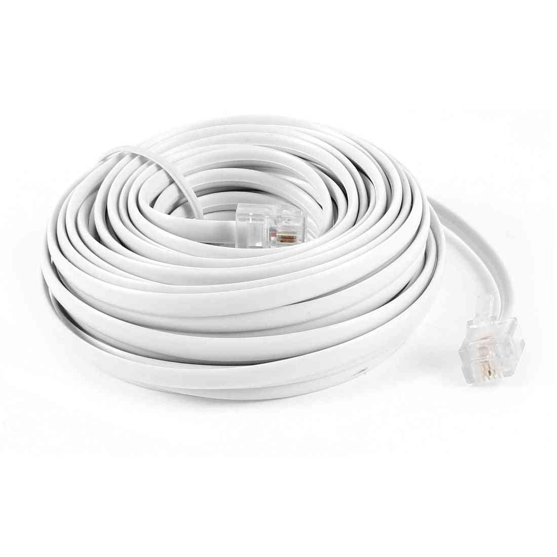9m/ 6p2c- Modular Telephone, Cables Wire