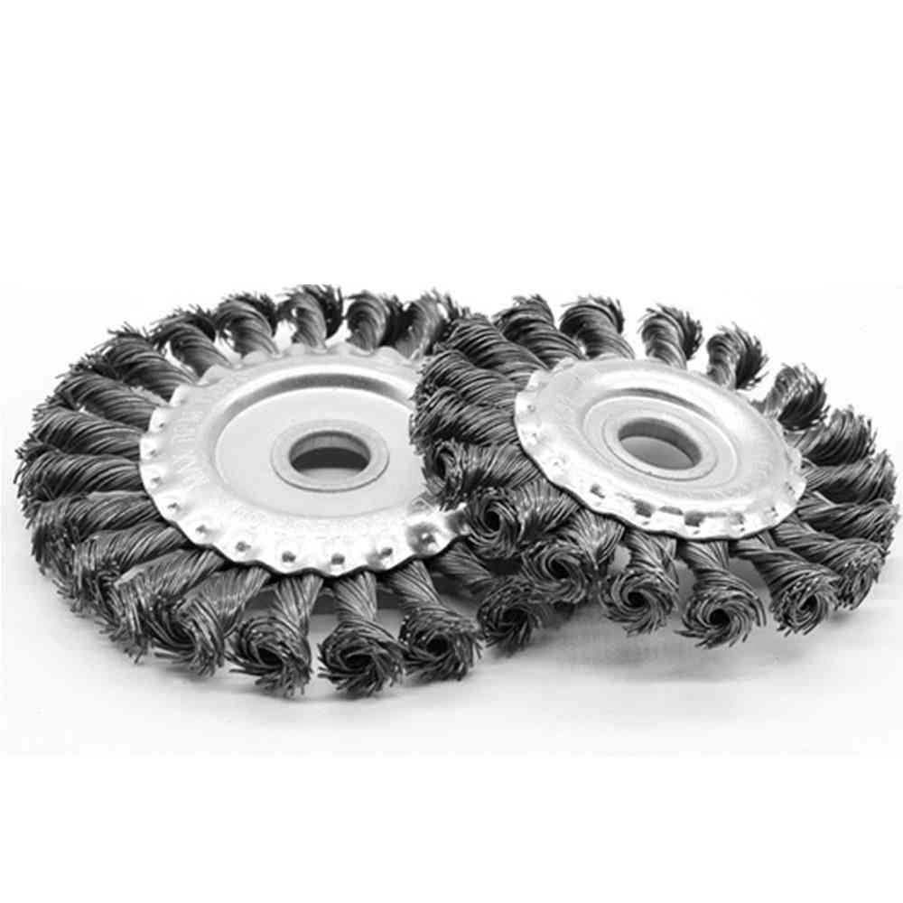 Knotted Bench, Steel Wire Brush, Deburring Grinder Cleaner Accessories