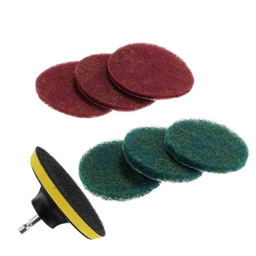 Power Scrubber Brush Set- Bathroom Cleaning, Cordless Drill Kit