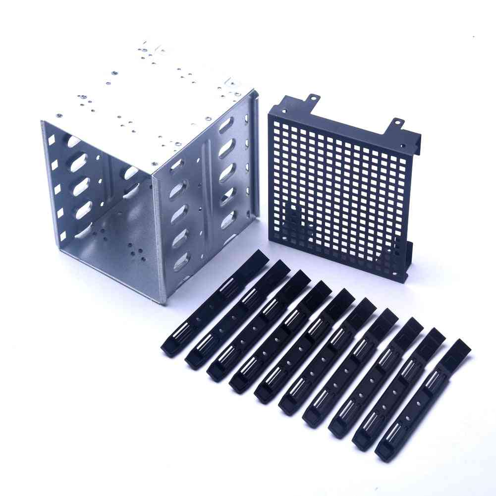 Cooling Fan., Hard Drive Cage, Adapter Tray, Caddy Rack, Bracket