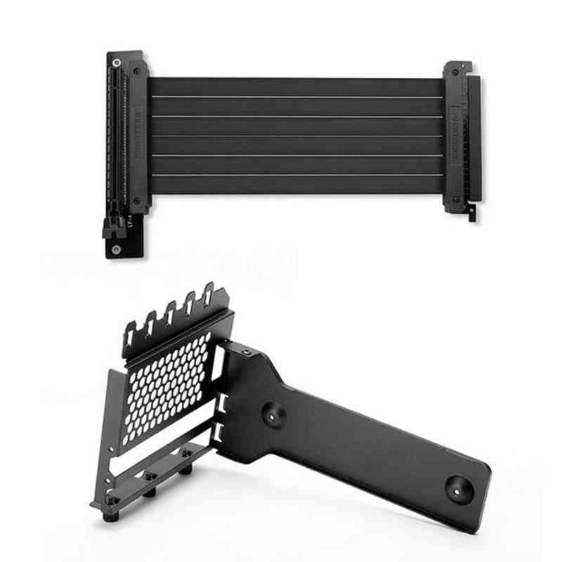 Vertical Stand Case For Desktop Computer - 7 Pci Chassis Video Card Extension