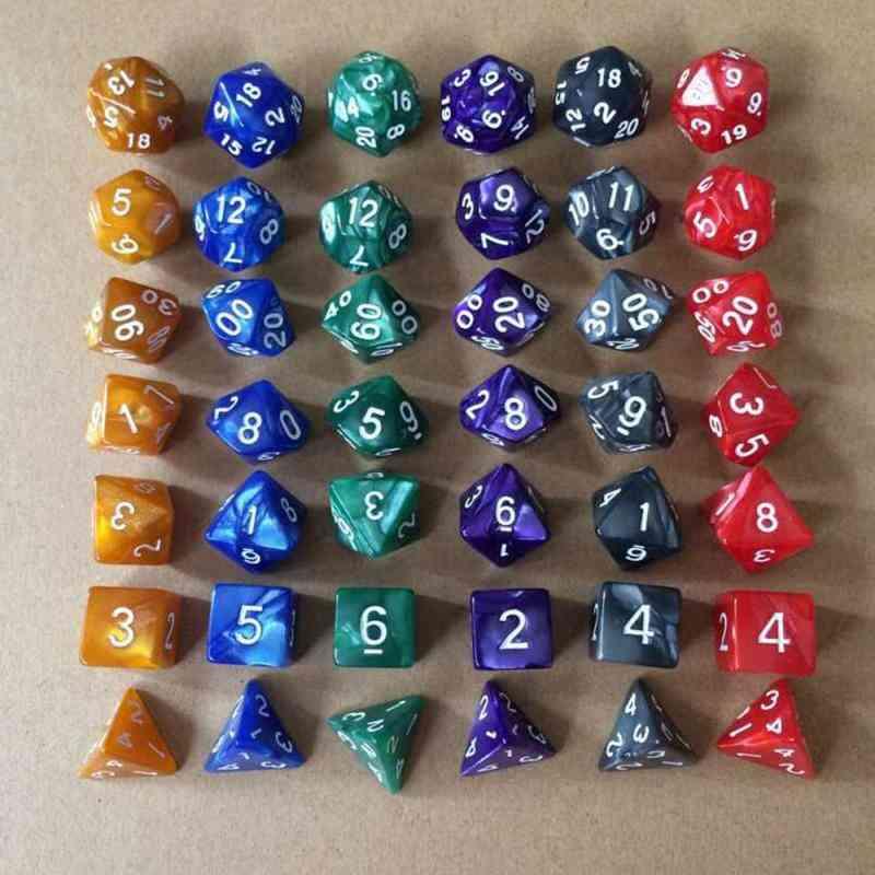 Multifaceted Polyhedral, Trpg Games Dice Set