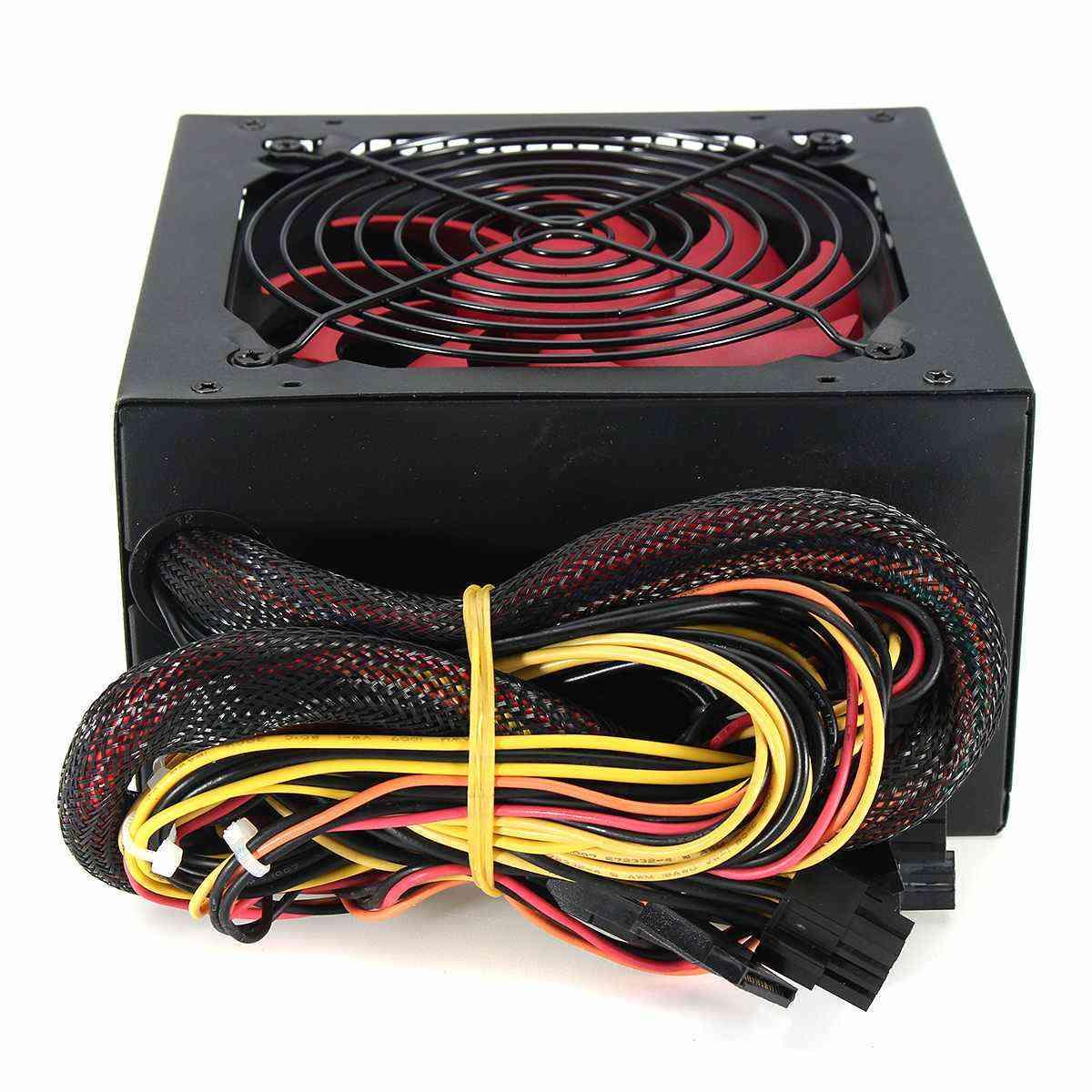 Multi-channel Pc Power Supply Fan For Intel Amd Pc 12v Atx Sli Pci-e Gaming
