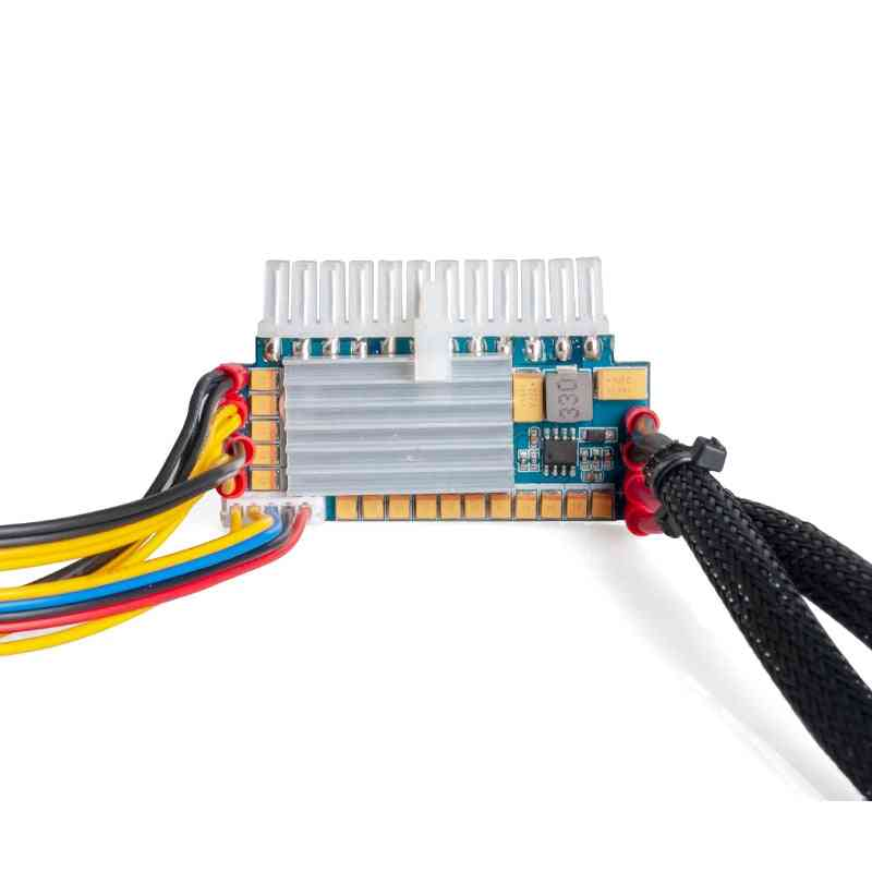 Pc Power Supply , 450w 24pin 12v Dc Input Peak 450w Output Realan Mini Itx Pico Psu Dc Atx Pc Switch