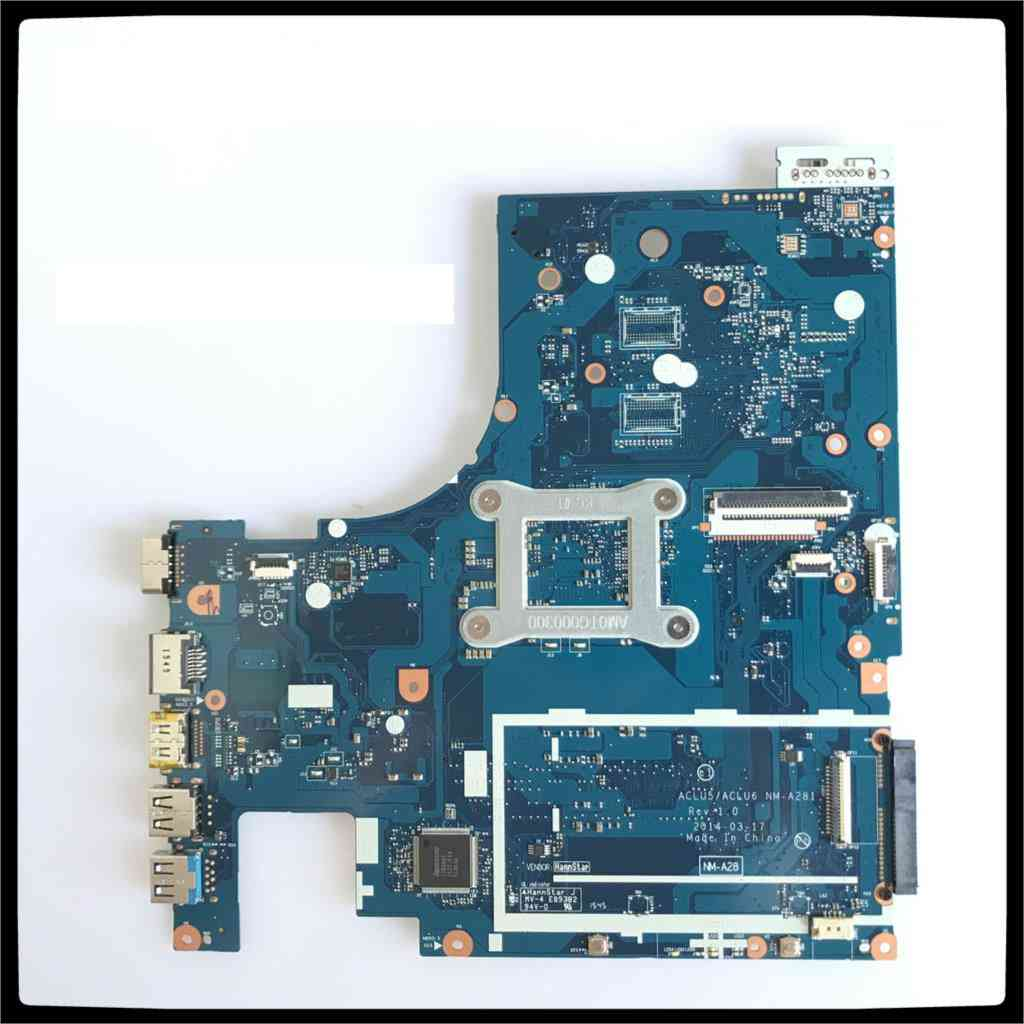 Nm-a281 Motherboard For Lenovo G50-45 Laptop Motherboard Aclu5/aclu6 Nm-a281 With A8-6410 Cpu