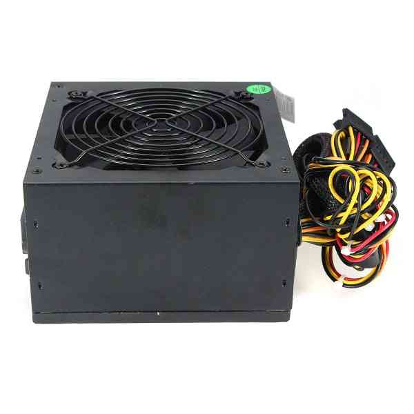 Power Supply Max 600w, Psu 120mm Fan, 12v Atx For Pc Computer