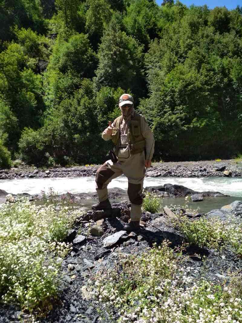 Men's Fly Fishing Waders Hunting Chest Wader Outdoor Breathable Clothing Wading Pants