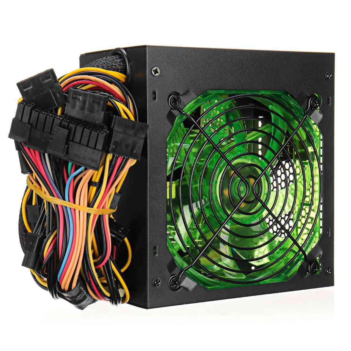 1000w, Power Supply, Psu Silent Fan, Atx 24pin, 12v For Pc Computer