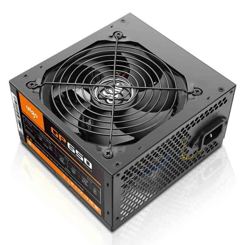 Aigo Pc Case Power Supply 12v Atx 80plus Eu Plug Max 850w Psu Mute Power Supplies For Computer Gamer