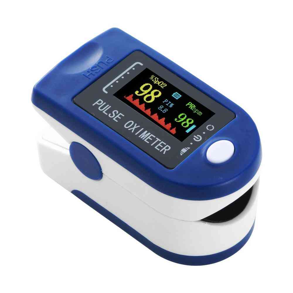 Portable Finger Pulse Oximeter, Heart Rate Monitor Tool, Digital Blood Oxygen Saturation Oxymetre