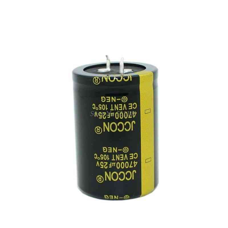 Aluminum Electrolytic High Frequency Low Impedance Through Hole Capacitor