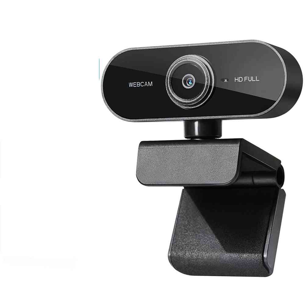 Mini Rotatable Hd 1080p Webcam Computer Pc Web Camera With Microphone Cameras For Live Broadcast Video Calling Conference Work