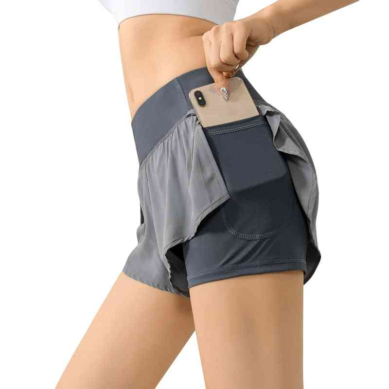 High Waist Biker Women Fitness Anti Exposure Tennis Skirt/shorts