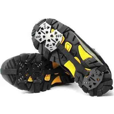 18 Tooth Manganese Steel Crampons Anti-skid Shoe Covers