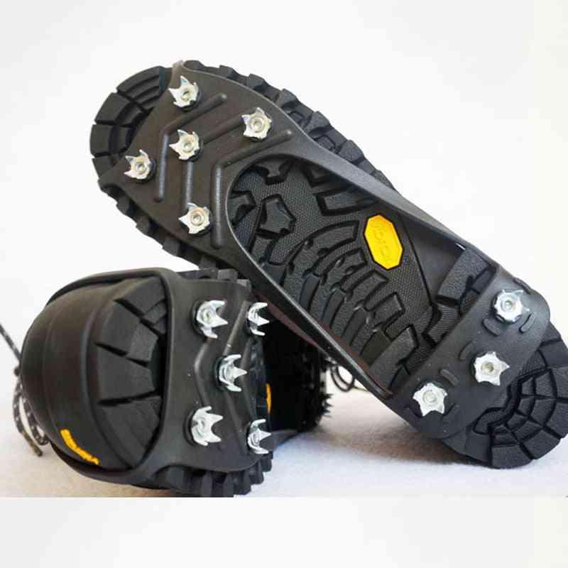 Anti-skid Shoe Spikes Crampon Anti-ice On Shoes Snow Hiking Anti Slip Camping Walking Grip