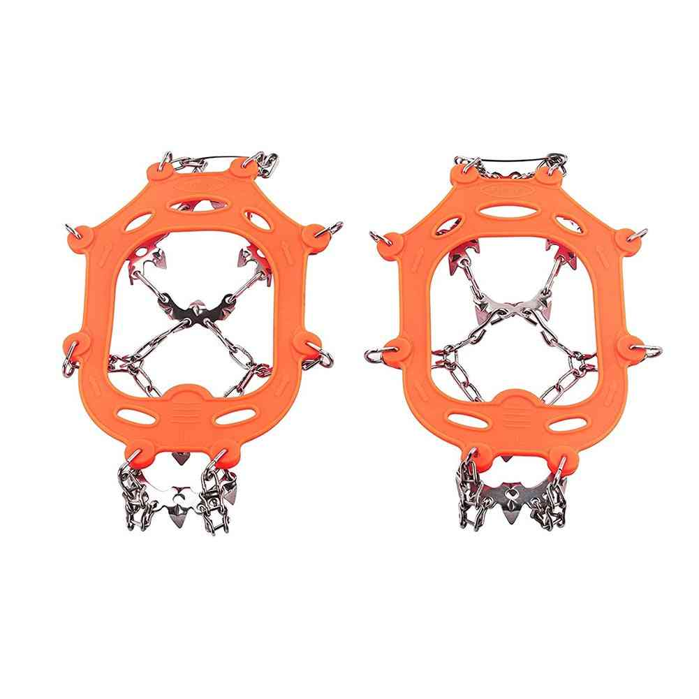 13 Teeth, Ice Snow Grips Crampon For Winter Hiking, Climbing Shoes Cover