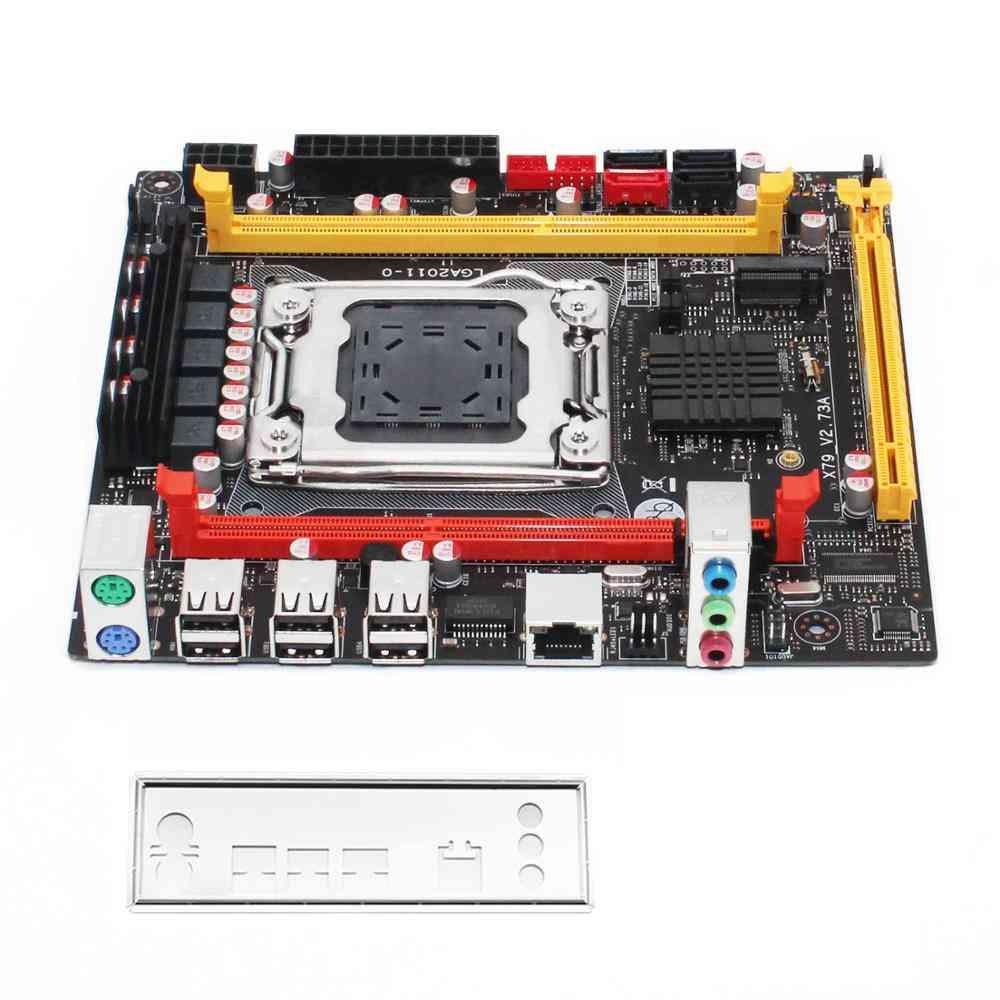 X79 Desktop Motherboard Lga 2011 Support Xeon E5 Series Processor Ddr3 Ecc Ram Memory Usb3.0 Sata3.0 X79 V2.73