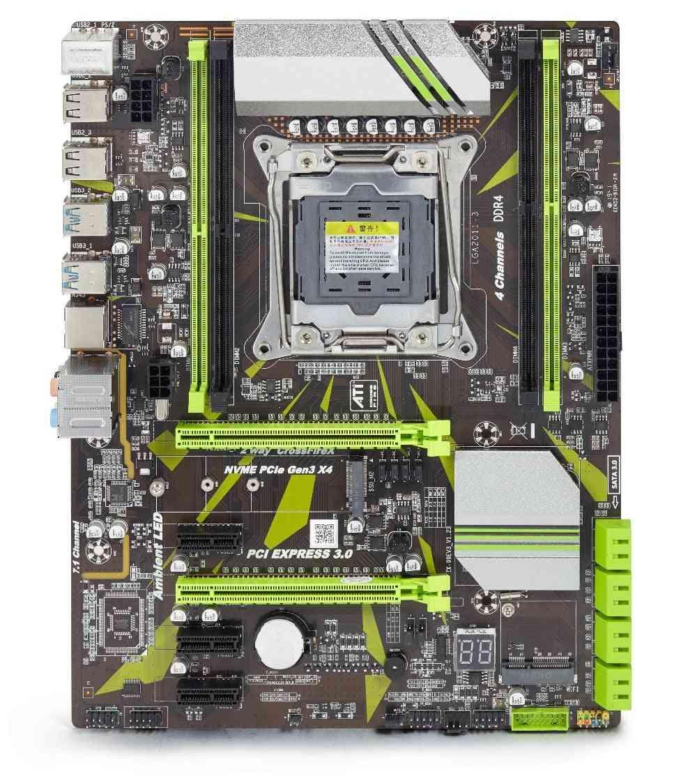 X99 D4 Motherboard Set With Xeon E5 2620 V3 Lga2011-3 Cpu 2pcs X 8gb =16gb 2666mhz Ddr4 Memory Reg Ecc Ram