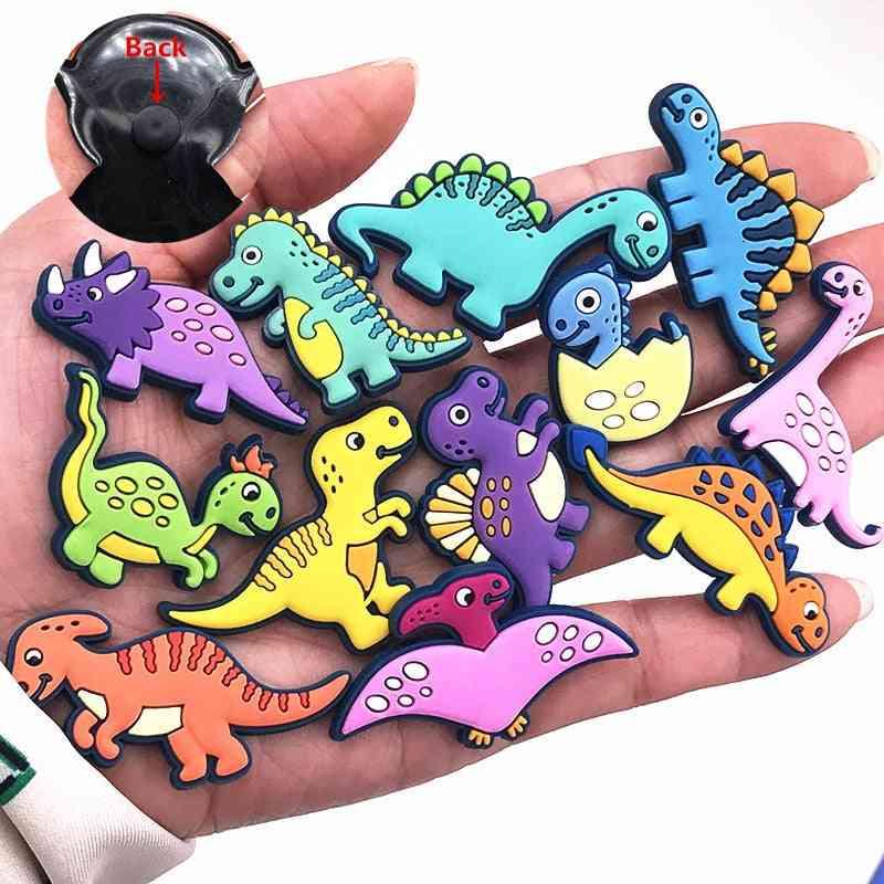 1pcs Shoe Charms Novel Dinosaur Cute Garden Shoe Decoration Accessories