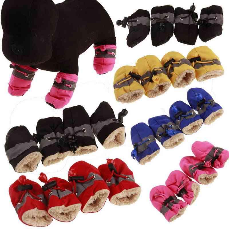 Pet Dogs Winter Shoes Rain Snow Waterproof Booties Socks