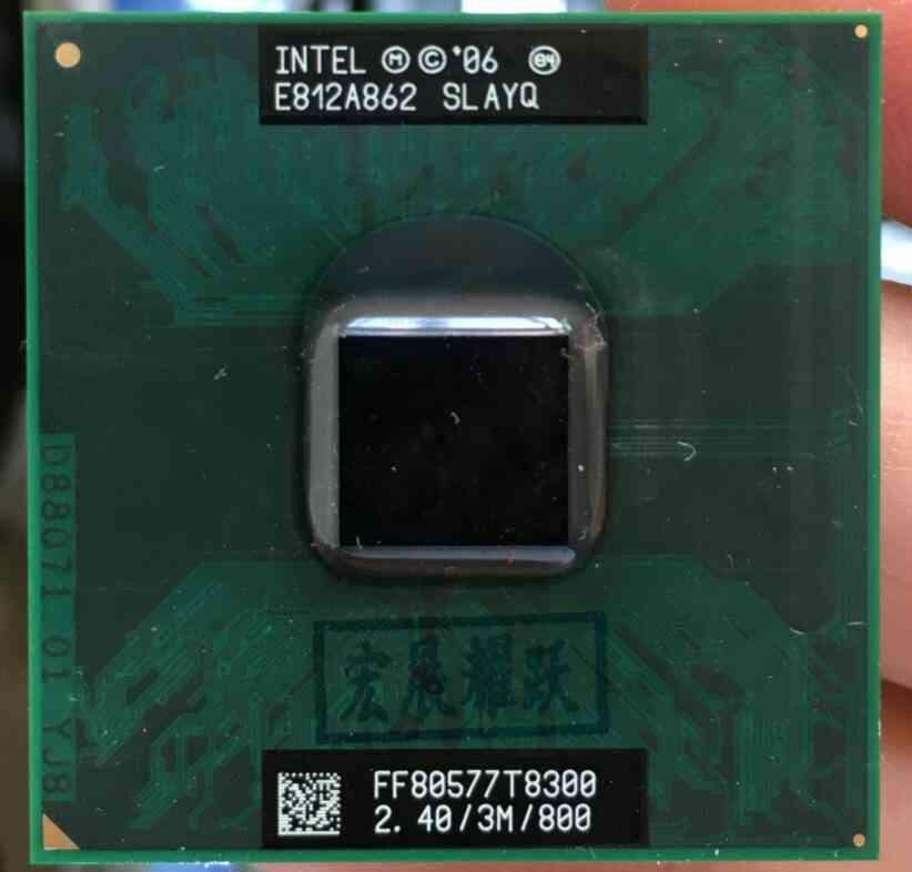 Core 2 Duo T8300 Cpu Laptop Processor