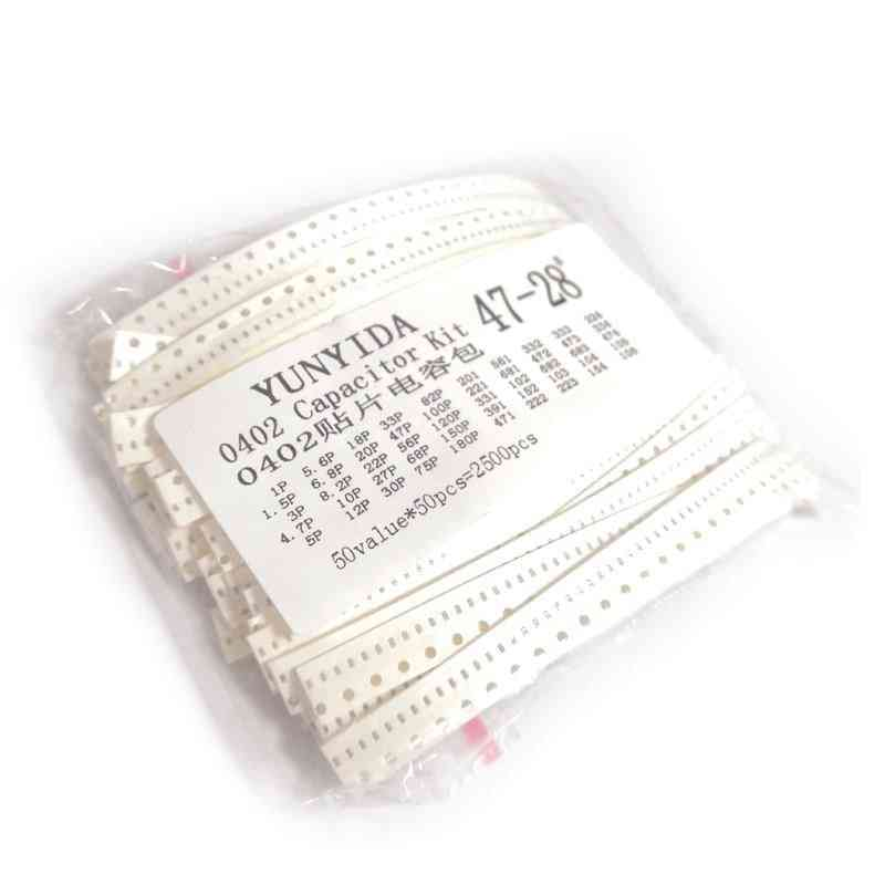 Smd Chip Ceramic, Capacitor Assorted Kit