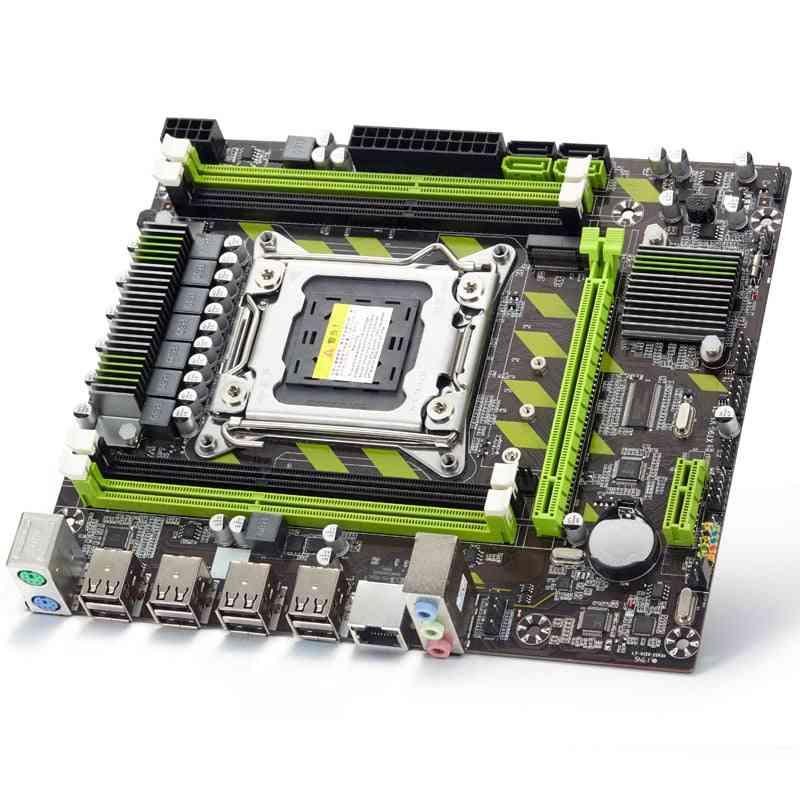 X79  X79g Motherboard Lga 2011 Usb2.0 Sata3 Support Reg Ecc Memory And Xeon E5 Processor 4ddr3