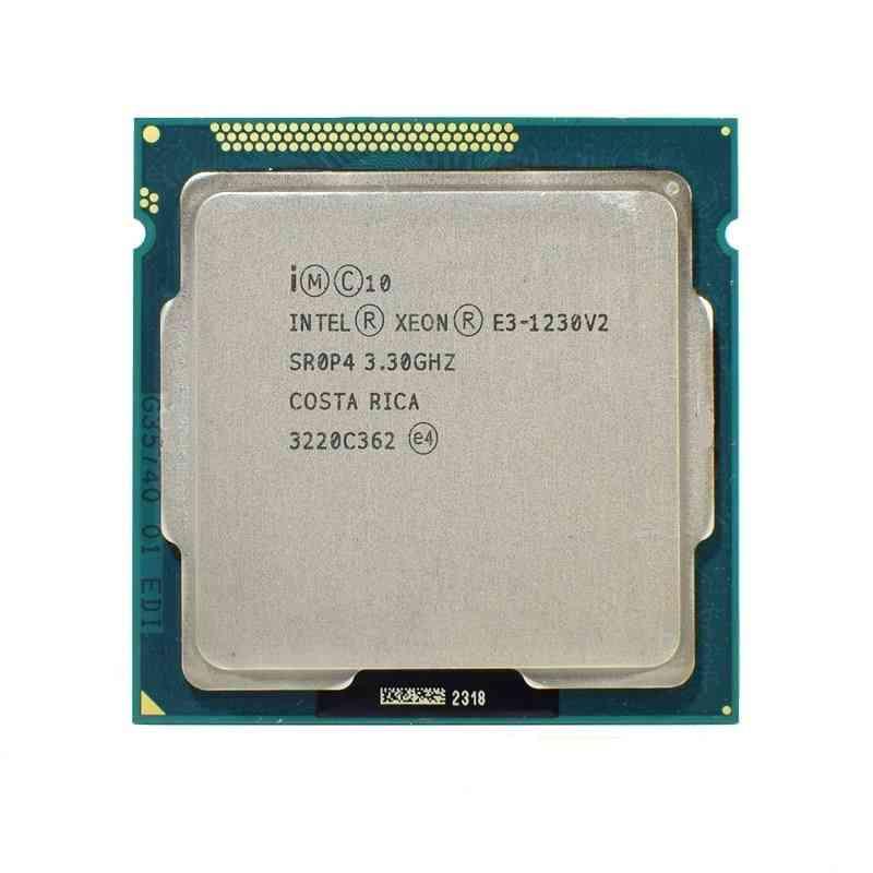 Xeon E3/ 1230 /v2, Quad-core, Cpu Processor