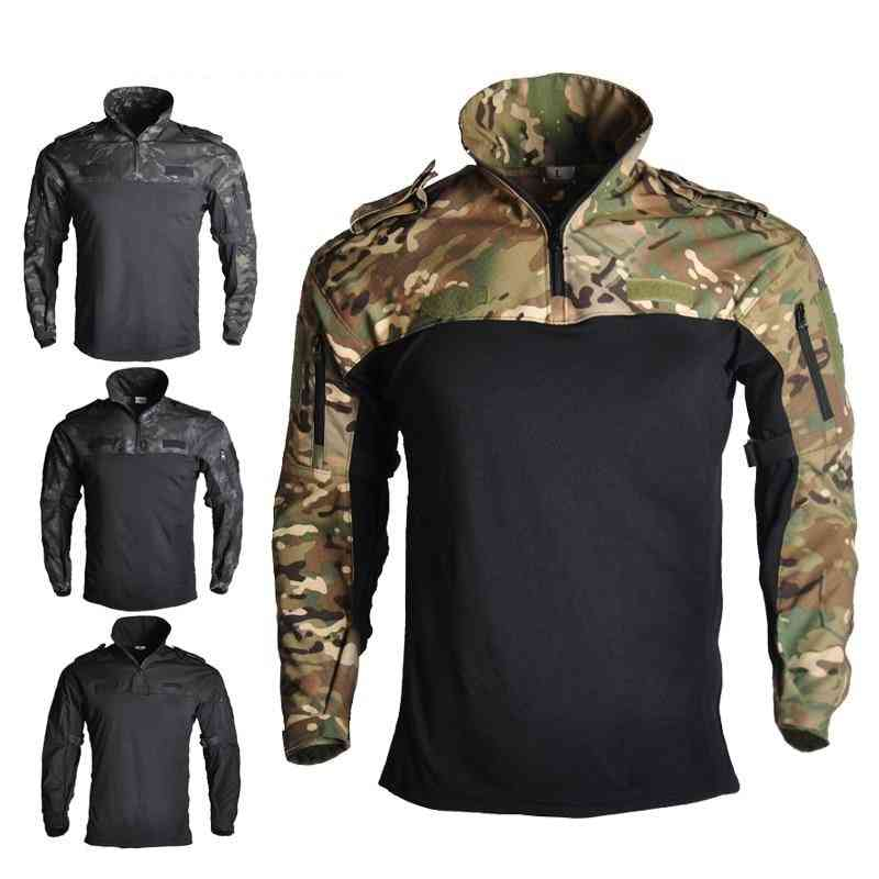 Camouflage Hunting, Tactical Frog Suits, Military Uniform, Combat Shirt & Pants