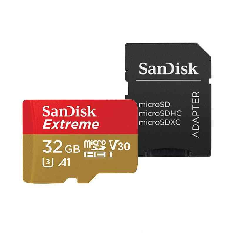 Extreme Micro Sd Card, 128gb Flash Memory Card, U3/ 4k/ V30 Tf Cards