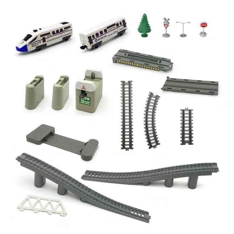 Electric High-speed Remote Control Railway Set Train Toy