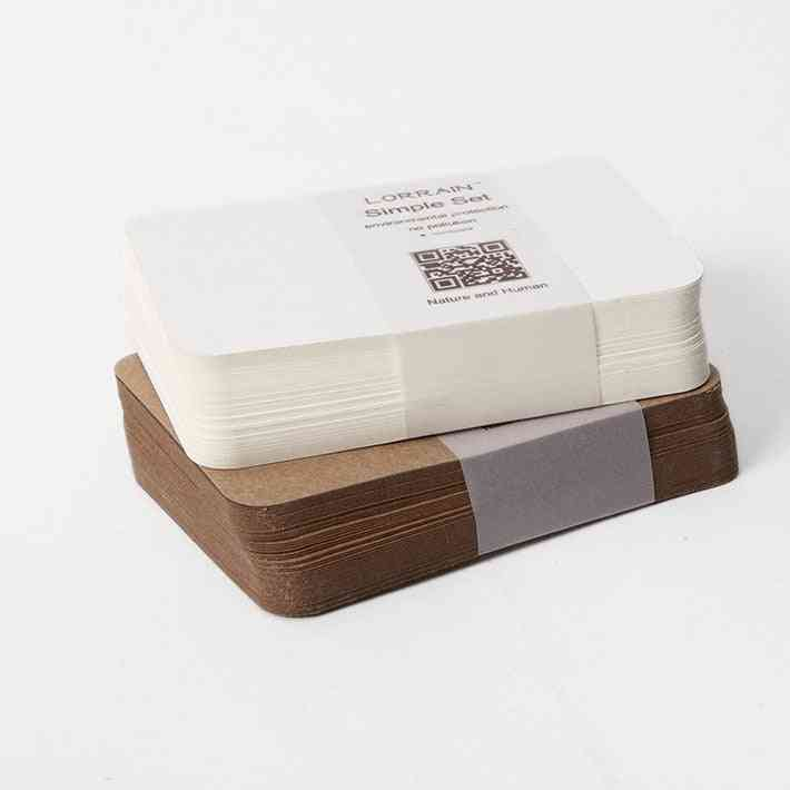 Blank Kraft Cardboard Paper