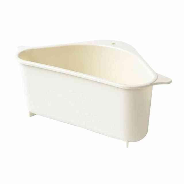 Kitchen Triangular Sink Strainer Drain Holder For Vegetable, Fruit