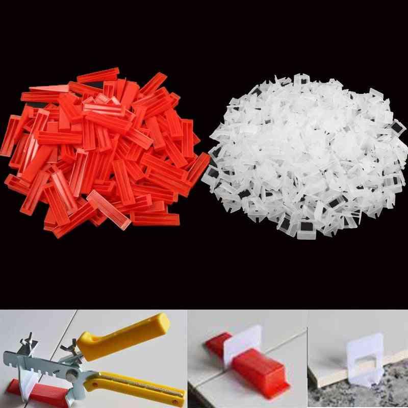 Plastic Ceramic Tile, Leveling System, Wedges Tiling, Flooring Clips Tools